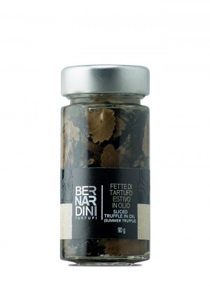 Sliced truffle in oil (Summer truffle) 90g