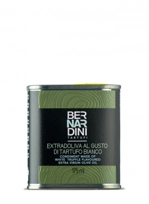 Extra virgin olive oil with white truffle - can 175ml