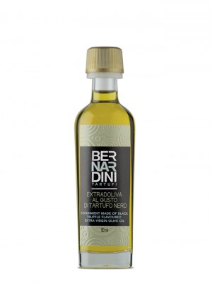 Extra virgin olive oil with black truffle - bottle 50ml