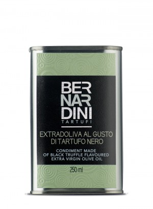 Extra virgin olive oil with black truffle - can 250ml